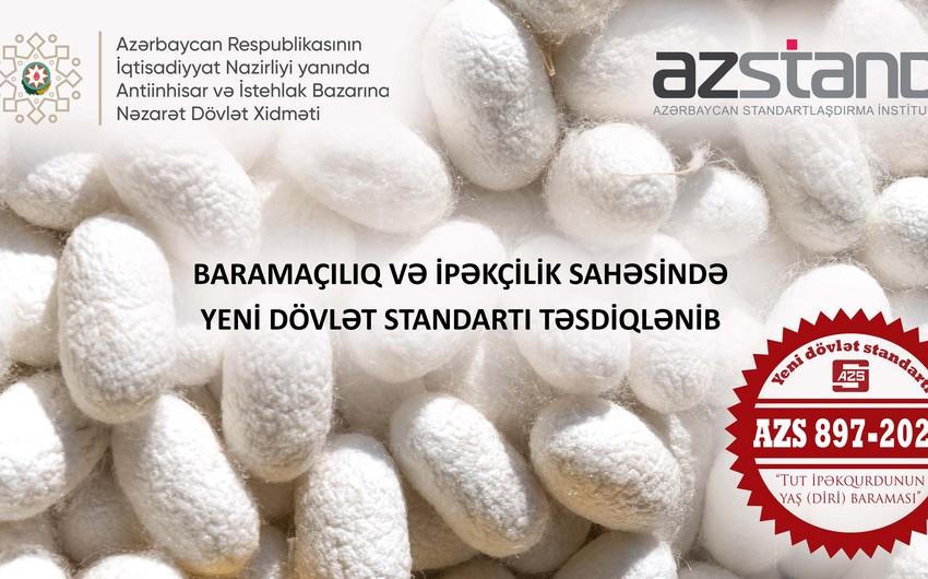 Azərbaycan baramaçılıq və ipəkçilik üzrə yeni dövlət standartı təsdiq edib