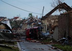 Rare tornado in Czech Republic kills five people