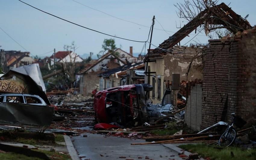 Жертвами торнадо в Чехии стали пять человек