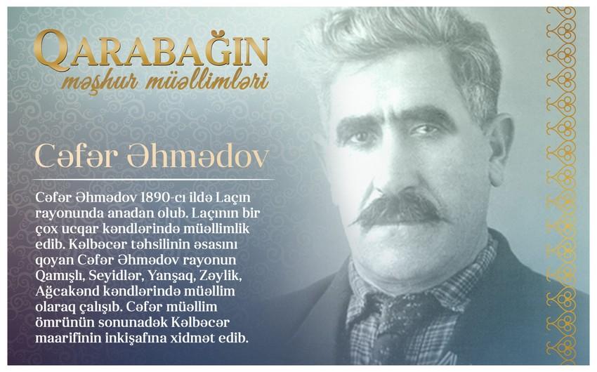 Qarabağın məşhur müəllimləri - Cəfər Əhmədov