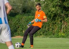 Slovakiyalı qapıçı: Matçın sonlarında Azərbaycan futbolçuları narahat idi