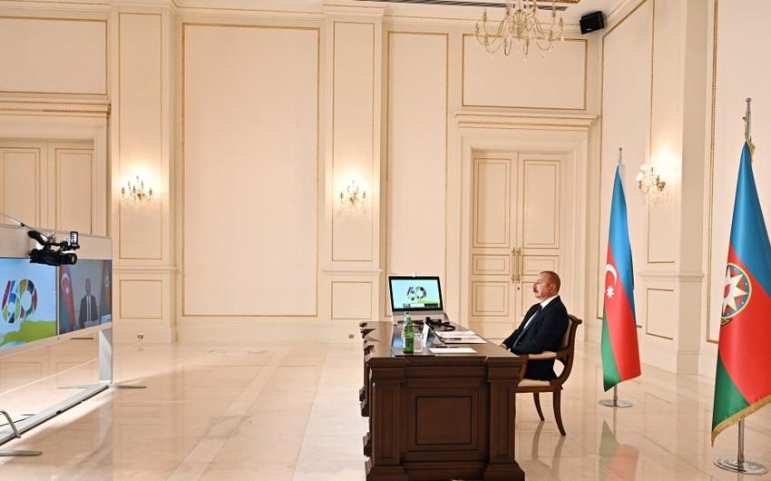 Prezident: Azərbaycan təmənnasız olaraq dörd ölkəyə 150 min doza peyvənd ianə edib