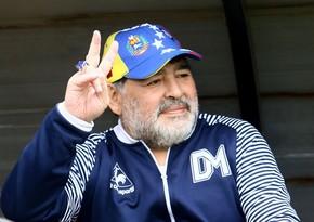 Maradona koronavirusla mübarizə üçün maraqlı üsul tapıb
