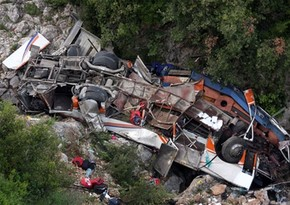 В Боливии более 20 человек погибли при падении автобуса в ущелье