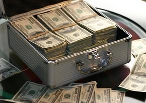 Gürcüstan Milli Bankının builki valyuta satışı 400 milyon dolları ötüb