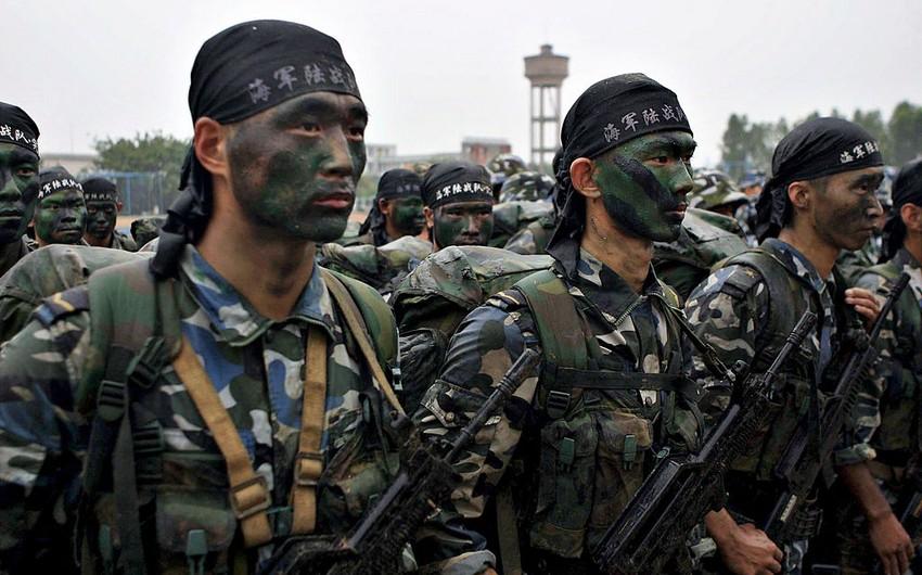 Çində genişmiqyaslı antiterror təlimləri keçirilib