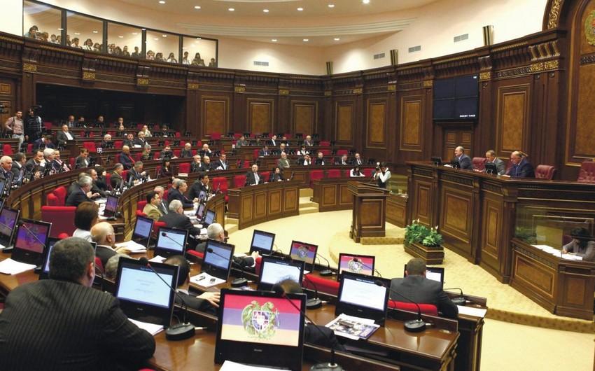 Ermənistan parlamentinin ilk iclasının tarixi açıqlanıb