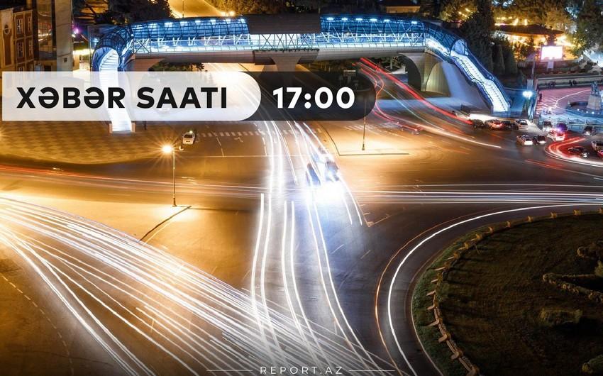 """""""Xəbər Saatı"""": Yollarda yenilik - piyada və sürücülərin işi asanlaşdı"""