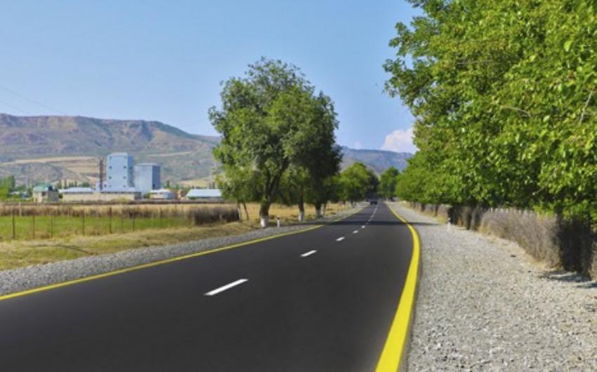 Qaraməryəm-İsmayıllı avtomobil yolu əsaslı şəkildə yenidən qurulub