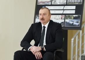 """Prezident: """"Dövlət şəhid ailələri, müharibə əlilləri üçün əlindən gələni edir"""""""