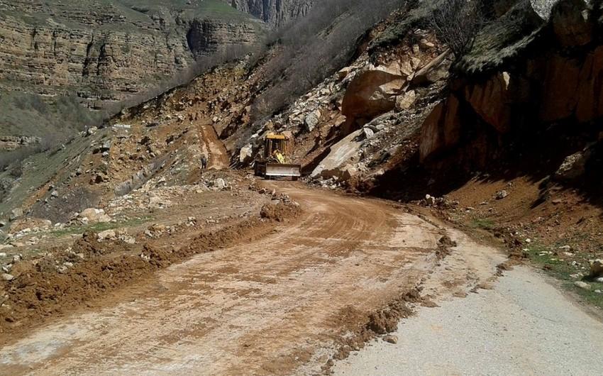 Quba-Xınalıq yolu bağlandı - YENİLƏNİB