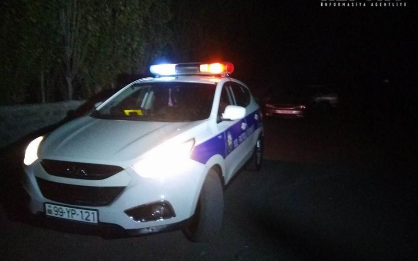 Salyanda iki avtomobil toqquşub, 1 nəfər yaralanıb