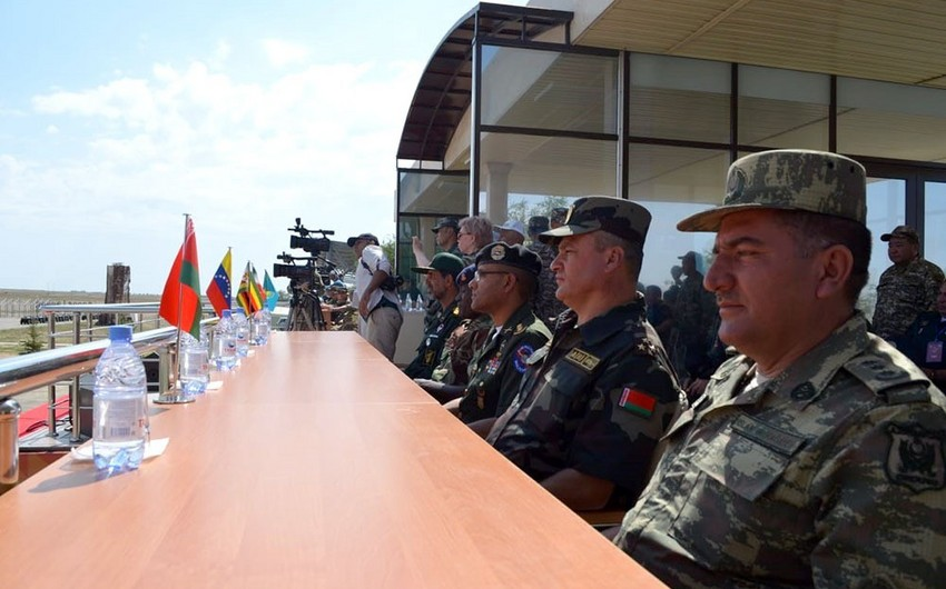Closing ceremony of the Masters of Artillery Fire contest held