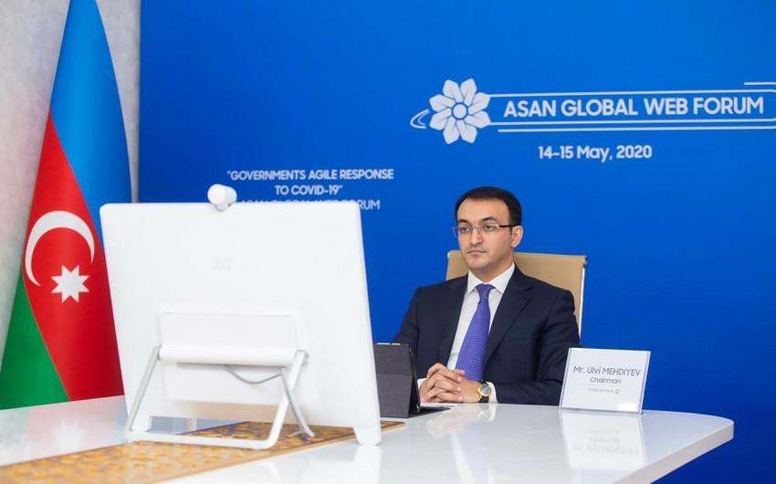 ASAN Qlobal Veb Forumun açılış sessiyası keçirilib