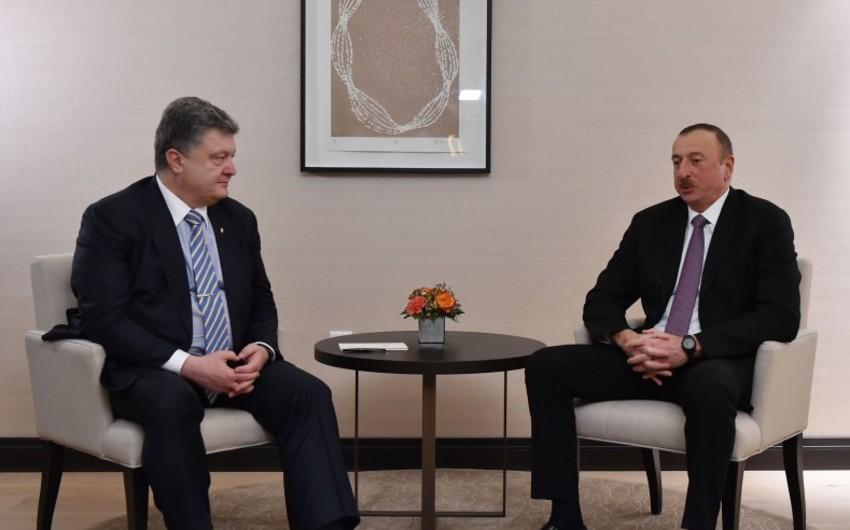Bu il Azərbaycan və Ukrayna Prezidentləri Şurasının iclası Bakıda keçiriləcək