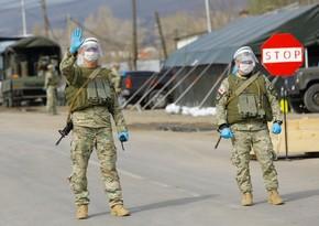 Gürcüstanda komendant saatının tətbiqi qüvvədə saxlanılıb
