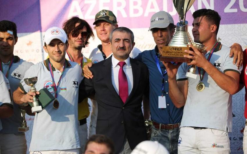Azərbaycan komandası Arena Polo Dünya Kubokunun qalibi olub