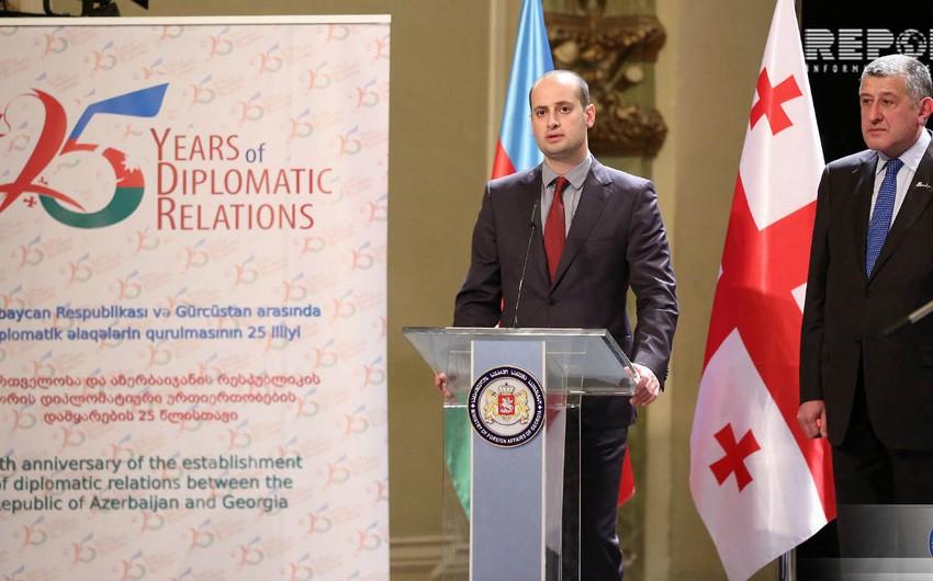 Михеил Джанелидзе: Наше соседство и сотрудничество с Азербайджаном - это пример для подражания