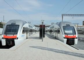 Пассажиропоток электропоездаБаку-Сумгайытсократился на 5%