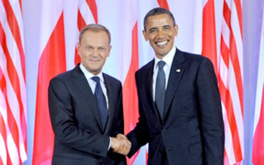 Barak Obama və Donald Tusk Ukraynadakı vəziyyəti müzakirə edəcək