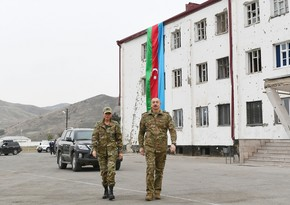 President Ilham Aliyev leaves for Shusha
