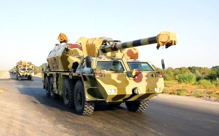 Azərbaycan Ordusu genişmiqyaslı təlimlərə başlayıb