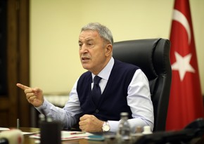 Hulusi Akar makes statement on resolution of French Senate