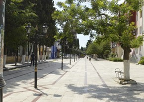 Empty streets of Lankaran-PHOTOREPORT
