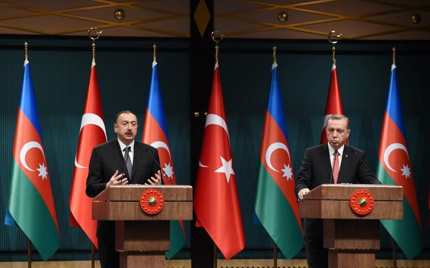 Azərbaycan Prezidenti: Türkiyə nə qədər güclü olsa, biz də güclü olarıq