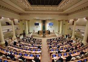 Gürcüstan parlamenti bu gün yeni hökumətə etimad göstərməlidir