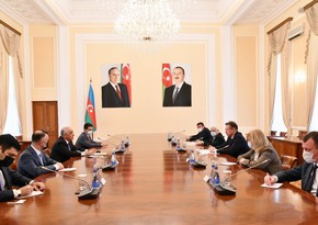 Ali Asadov meets with Russian Health Minister