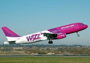 """""""Wizz Air""""in sərnişinlərinin sayı 69% azalıb"""