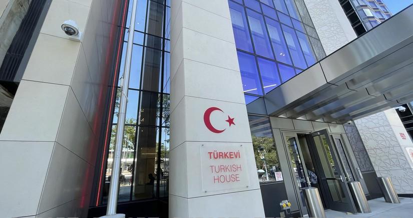 """ABŞ-da """"Türk evi""""nin açılışı olub"""