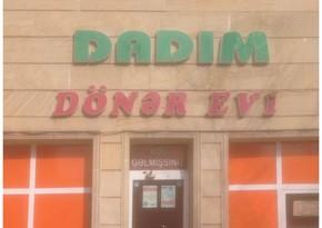 """Kürdəmirdə """"Dadım"""" dönər evində yoxlama keçirilib"""