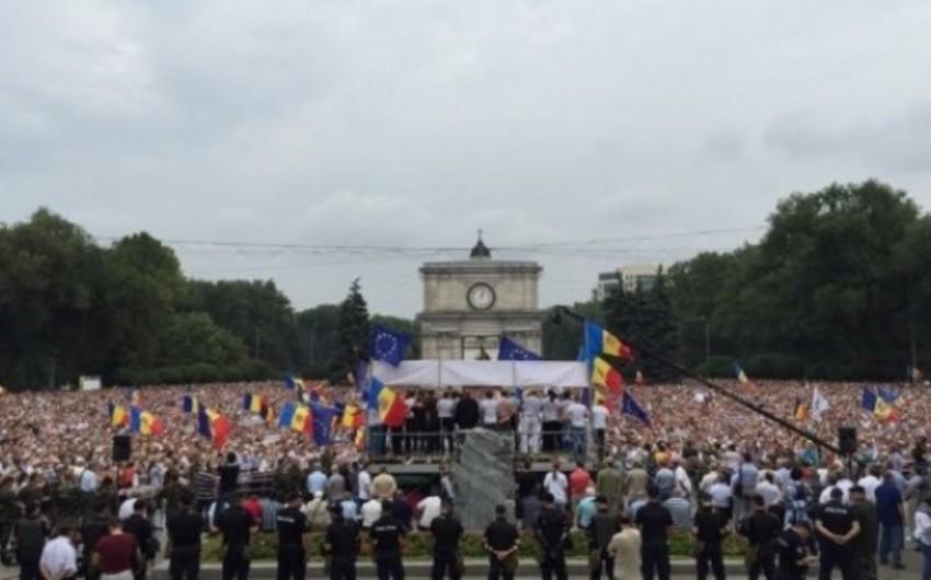 Moldovada mitinqlər davam edir, təşkilatçılar bazar günü vacib bəyanat verəcəklərini açıqlayıblar