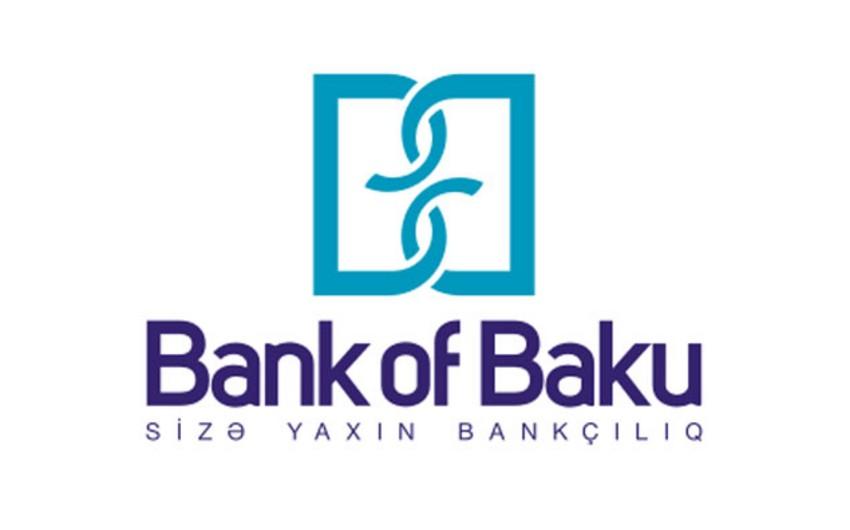 Bank of Baku krediti dollarda olan müştərilər üçün güzəşt kampaniyasına başlayıb