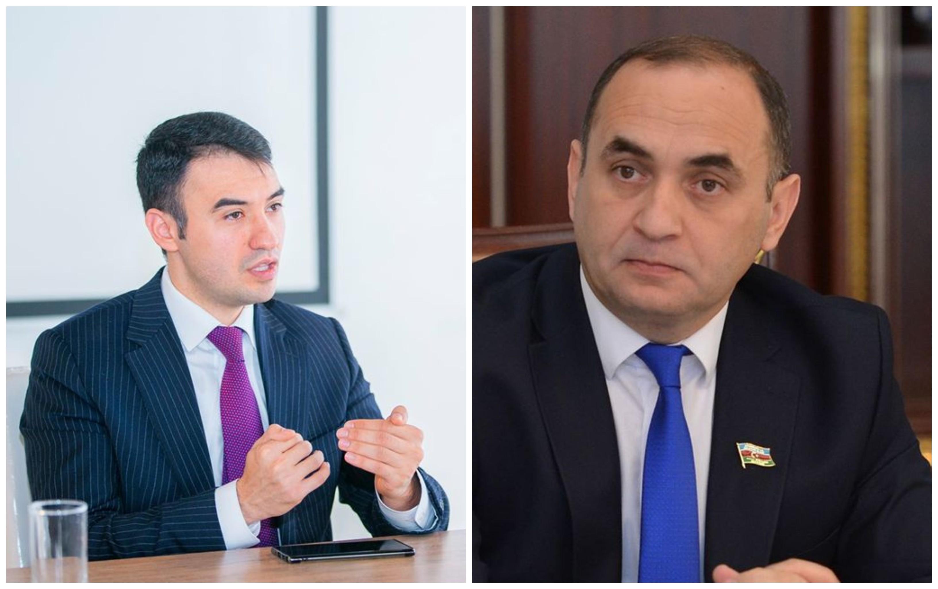 Kamal Cəfərov və Ceyhun Məmmədov