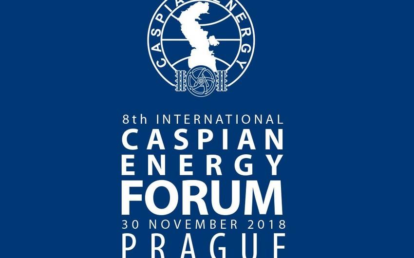 """Noyabrda Praqada """"Caspian Energy Forum"""" keçiriləcək"""