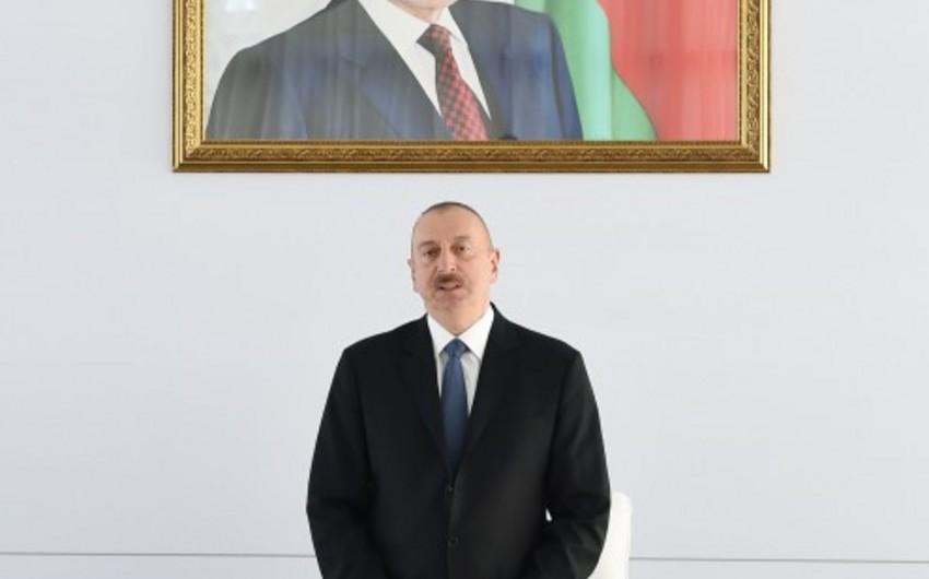 Azərbaycan Prezidenti: Ermənistana qarşı çoxdan beynəlxalq sanksiyalar tətbiq olunmalı idi