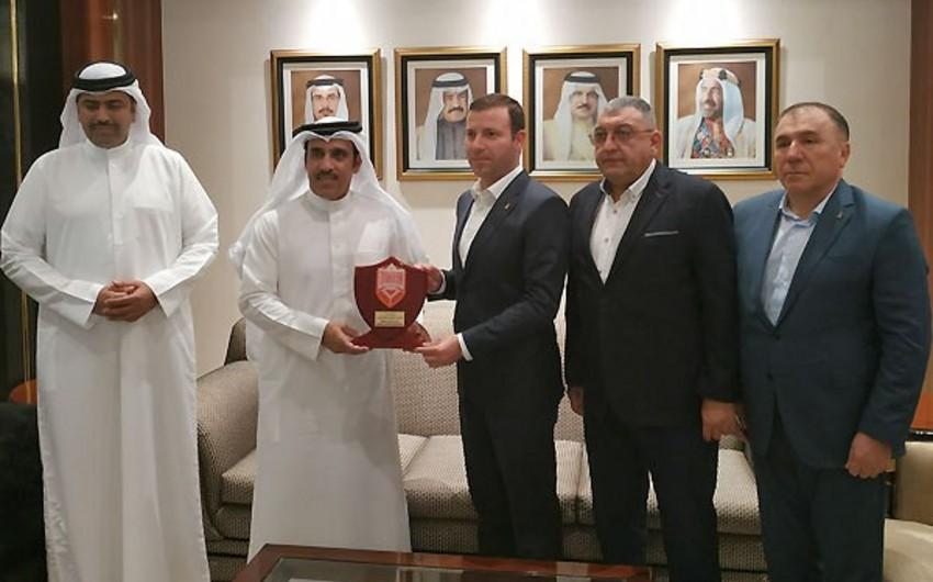 Состоялась встреча руководителей АФФА и ФАБ