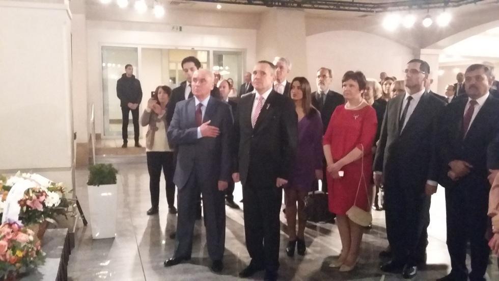 В Баку состоялся официальный прием по случаю 98-й годовщины провозглашения Республики Латвия