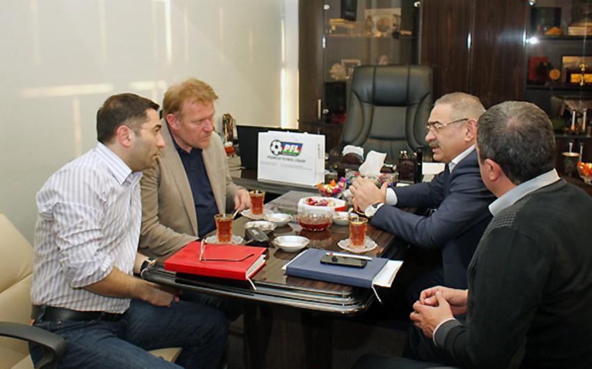 Robert Prosineçki PFL prezidenti Ramin Musayevlə görüşüb