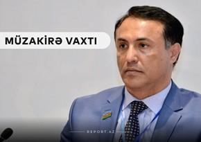"""Deputat Elman Nəsirov """"Müzakirə vaxtı""""nın qonağı olub"""