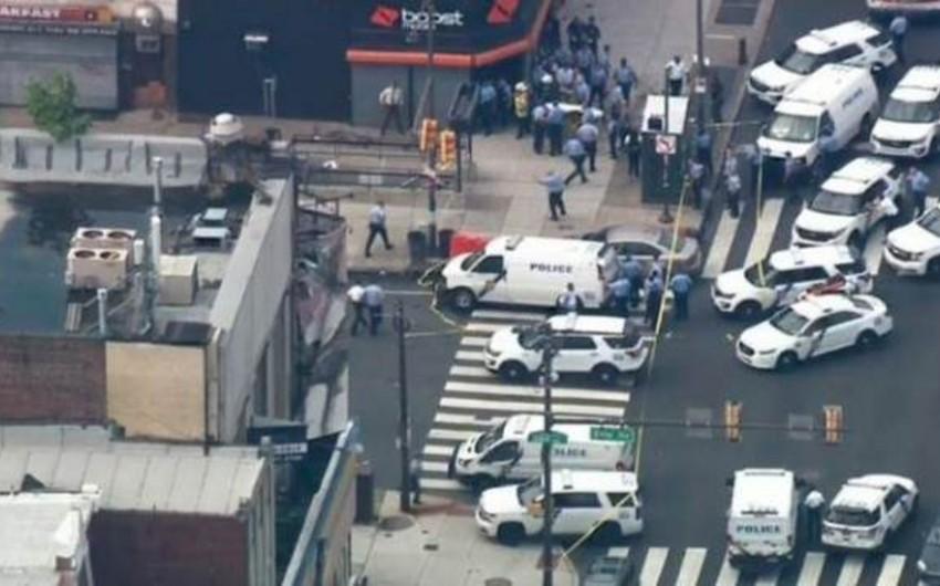 Filadelfiyada atışma nəticəsində 6 polis zabiti yaralanıb - YENİLƏNİB