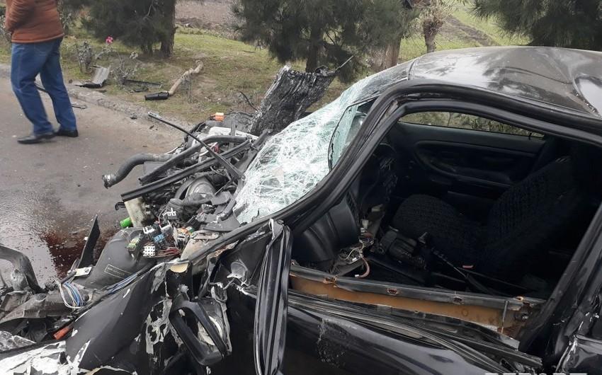 Qaradağda avtomobili avtobusa çırpan sürücünün cinayət işində 32 zərərçəkmiş var