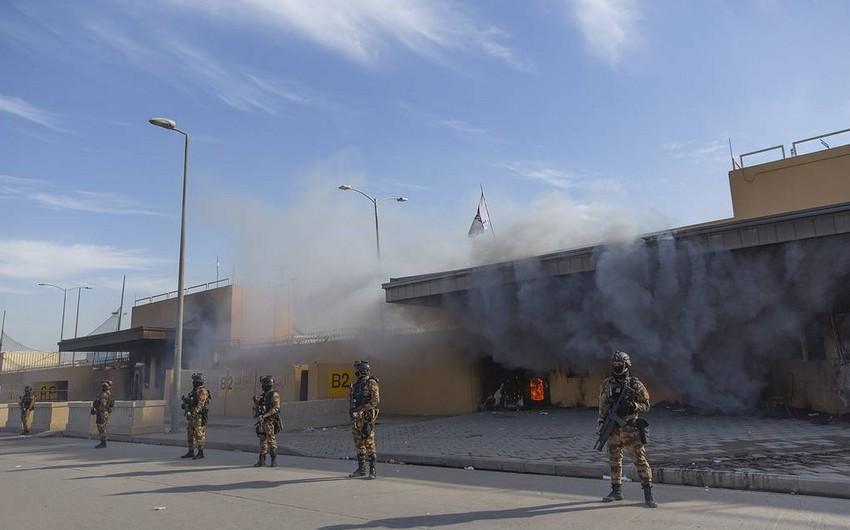 Три человека пострадали при обстреле посольства США в Багдаде - ОБНОВЛЕНО - 2