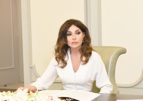 Mehriban Aliyeva congratulates people on liberation of Lachin