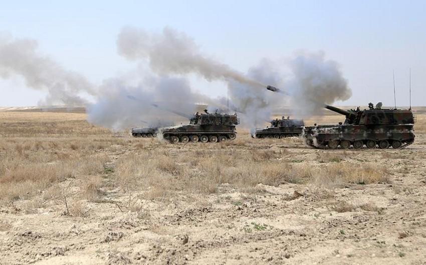 Türkiyə İŞİD-in Suriyadakı mövqelərinə 9 artilleriya zərbəsi endirib