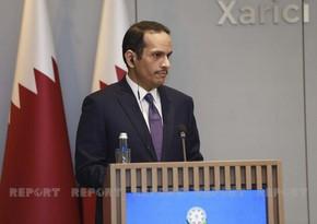 XİN başçısı: Regionda siyasi dialoqun aparılması Qətərin xarici siyasətində prioritet təşkil edir