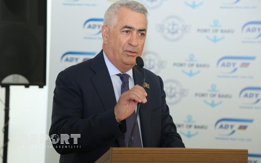 Cavid Qurbanov: Azərbaycan üzərindən tranzit yükdaşımaların həyata keçirilməsi ölkənin valyuta gəlirlərinin artması deməkdir